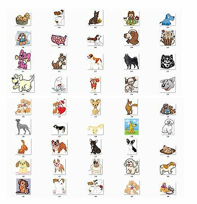 Personalized Cute Dogs  Return Address Labels Buy 3 get 1 free (cd4)