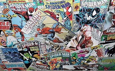 6 x SPIDERMAN COMICS - 1980's to Present - US/UK Issues All Different!.Bargain!!