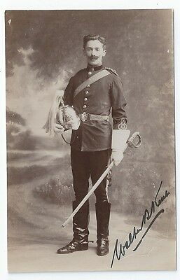 Pre-WW1 6th Dragoon Guards Carabiniers Cavalry Officer Full Dress RP PC Frome