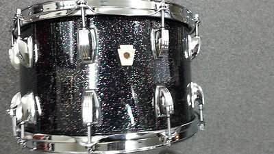Ludwig Classic Maple Black Galaxy 8x14 Snare Drum