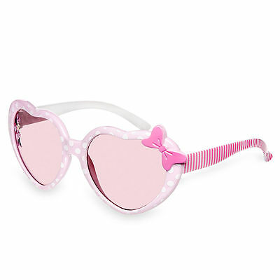 Disney Store Minnie Mouse Pink Sunglasses For Kids Girls 100% UV Protection