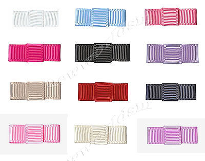 "NEW 31mm 1.2"" Belt Bows 9mm Grosgrain Ribbon Eco Quality Craft Wedding Party"