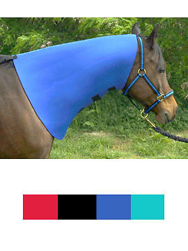 Horse Black NECK SWEAT NEOPRENE Wrap Cover  Tack Large 520NeopreneNeck