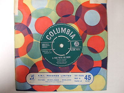 DB 4212 Slim Dusty - A Pub With No Beer / Once When I Was Mustering - 1957