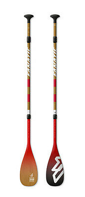 Fanatic Stand up Paddle SUP Paddel Bamboo Carbon 50 Adj.3-Piece 2017