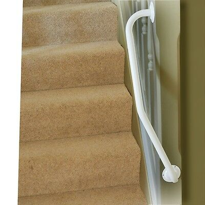 Newel Post Grab Rail (Left or Right Handed)