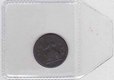 1721 George I Farthing In Well Used Fair Condition