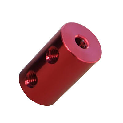 2mm-3mm Flexible Shaft Coupling Rigid For CNC Motor Coupler Connector Red