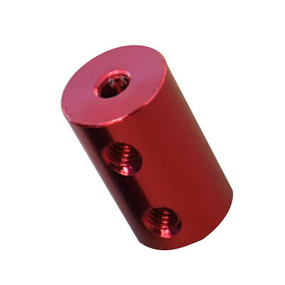 2mm-3.17mm Flexible Shaft Coupling Rigid For CNC Motor Coupler Connector Red