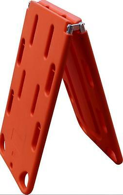 4 fold Rescue stretcher Backbone Panel Fixed plate Floating emergency stretcher