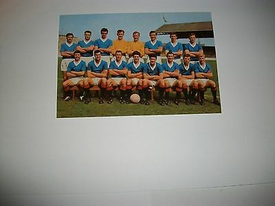 "GLASGOW RANGERS TEAM 16 players late  1960s  ?   6""x4""  Photo REPRINT"