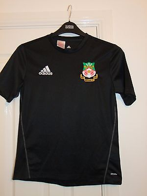 Adidas WREXHAM FC Non League Football Training Shirt 13-14 Years Soccer Top