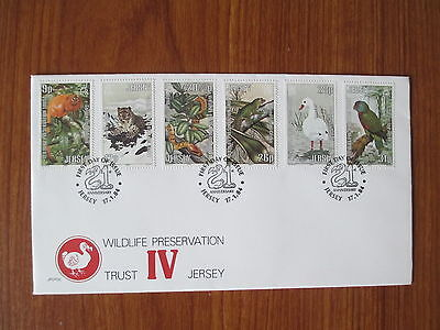 Jersey - 1984 First Day Cover, Wildlife Preservation Trust