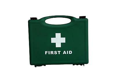 Qualicare Empty Green First Aid Box (1-10 Person)