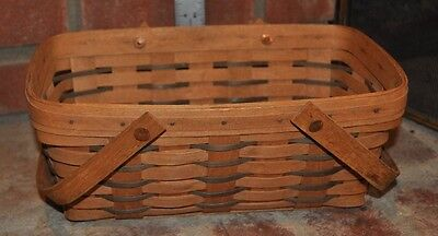 Longaberger 1998 Chore Basket with handles
