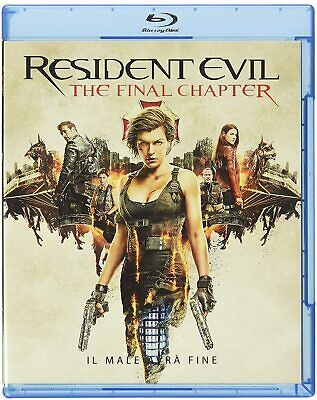 Resident Evil: The Final Chapter - Blu Ray  Blue-Ray
