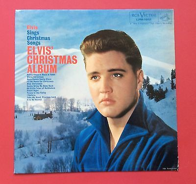 Elvis Presley- Very Hard To Find 1963 Usa Xmas Album Reissue-Great Cover