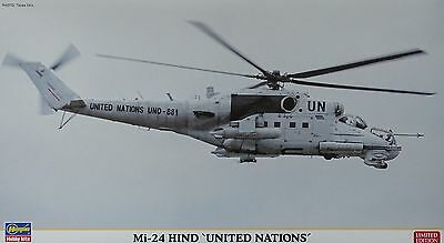 """HASEGAWA® 02192 Mi-24 Hind """"United Nations"""" in 1:72 LIMITED EDITION"""