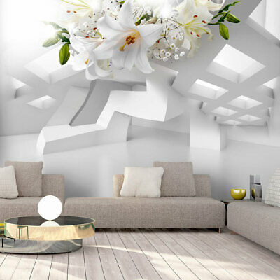 fototapete 3d optik vlies tapete blumen wandbilder xxl wandtapete a c 0072 a a eur 8 99. Black Bedroom Furniture Sets. Home Design Ideas