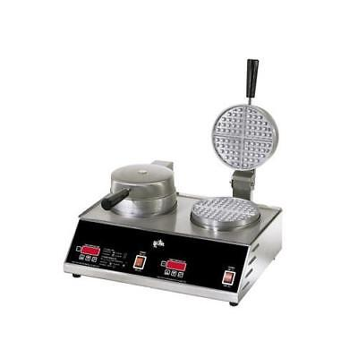 Star - SWB7R2E - Double Round Waffle Baker