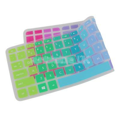 Silicone Laptops Notebooks Keyboard Protector for HP Pavilion 15-ab Colorful