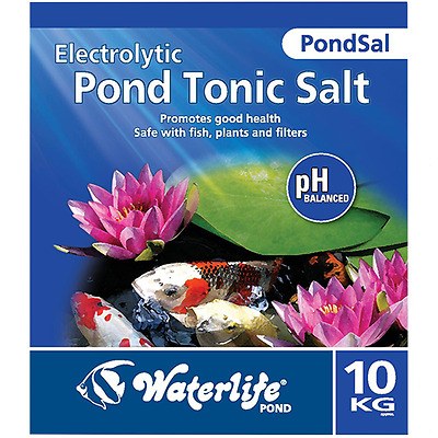 Waterlife PondSal Pond Tonic Salt - Garden Pond Koi Fish Treatment - 10Kg Bag