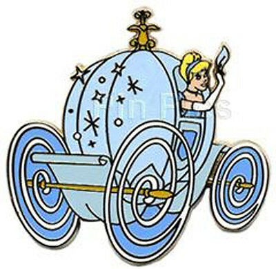 Disney All Roads Lead to Happiest Homecoming on Earth Cinderella Coach GWP Pin