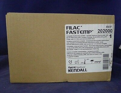 Tyco Kendall 202000 Filac Fastemp Thermometer NEW
