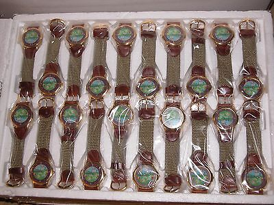 Job lot of 20 Novelty Watches canvas strap NEW Gardening Springtime Free Gift