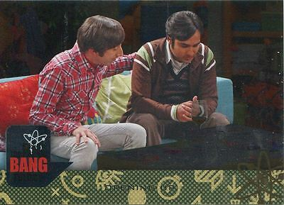 Big Bang Theory Seasons 6 /& 7 Silver Parallel Base Card #61 Couch Time Machine