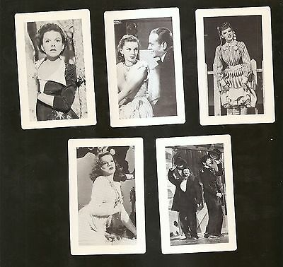 MGM Movie Card Set/Lot 1944-1950 (5 cards) JUDY GARLAND ~ NM-MINT Condition