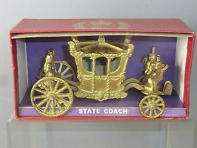 "CRESCENT TOYS  MODEL No.1303  ROYAL  STATE COACH     "" PART BOXED""  VN MIB"