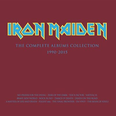 IRON MAIDEN - Collectors Box: The Complete Albums Collection 1990-2015 - 3xLP