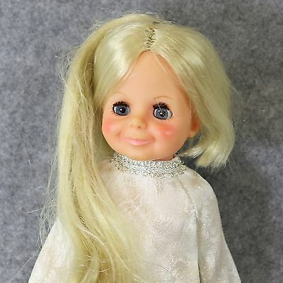 Vintage Kerry Crissy Chrissy Green Eyes Blonde grow hair 1970 's