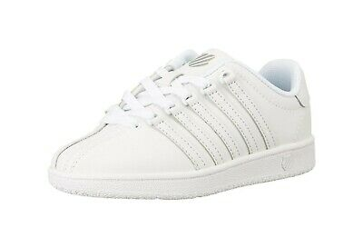 2a2797fddec1 K-SWISS Shoe Classic VN Youth Size Girls Sneakers White White