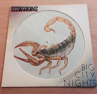 "Scorpions - Big City Nights 12"" Picture Disc Vinyl"