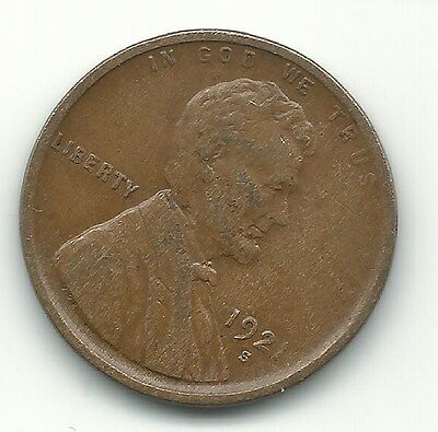 A Very Fine/extra Fine Vf/xf 1921 S Lincoln Cent Coin-Old Us Coin-May077