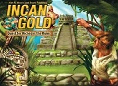 Incan Gold Card Game 2nd Edition (Diamant)
