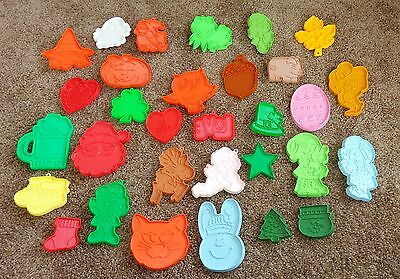31 Plastic Cookie Cutters 30 Hallmark Kermit The Frog Pig Owl Baby St Patricks