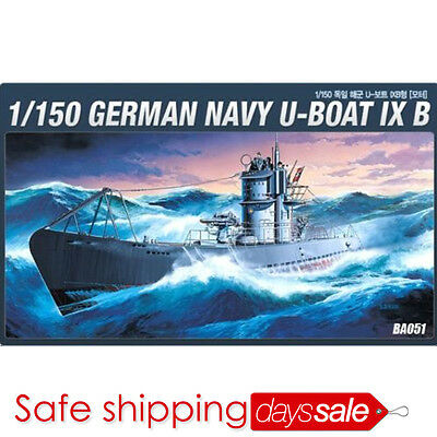 [BrandNew] ACADEMY Model kit 1/150 German NAVY U-Boat IX B
