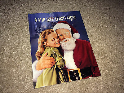 MIRACLE ON 34th STREET Movie Promo Brochure 1947 Christmas Natalie Wood R93
