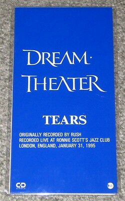 DREAM THEATER Japan PROMO ONLY 3 inch CD single SEALED snap pack TEARS Rush AACD