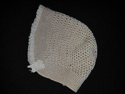 Antique Victorian Baby Bonnet  ~ Collectors, Antique, Reborn Dolls, Bears