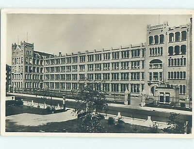 old rppc ASSCHER'S DIAMOND WORKS BUILDING Amsterdam Netherlands HM2116