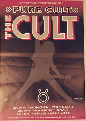 The Cult Concert Tour Poster 1996