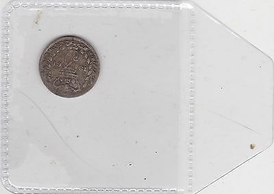 1861 Silver Threepence A Used Fine Condition