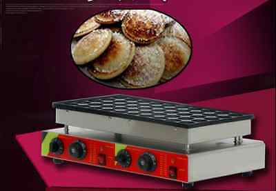 New 50pcs 110v 220v Electric Dutch Pancakes Poffertjes Maker Machine Baker E