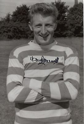 """Celtic """"Lisbon Lions 1967"""" 12 x 8 inch photo personally signed by Tommy Gemmill."""