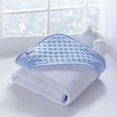Clair de Lune Luxury Dimple Hooded Towel, Blue