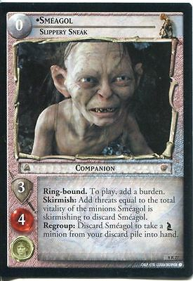Lord Of The Rings CCG Card SoG 8.R27 Smeagol Slippery Sneak